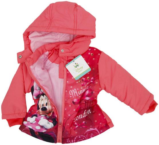 Baby lined jacket Disney Minnie
