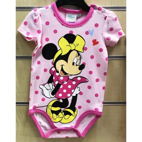 Baby Bodysuit Disney Minnie