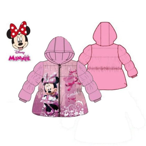 Baby lined jacket Disney Minnie – Pink