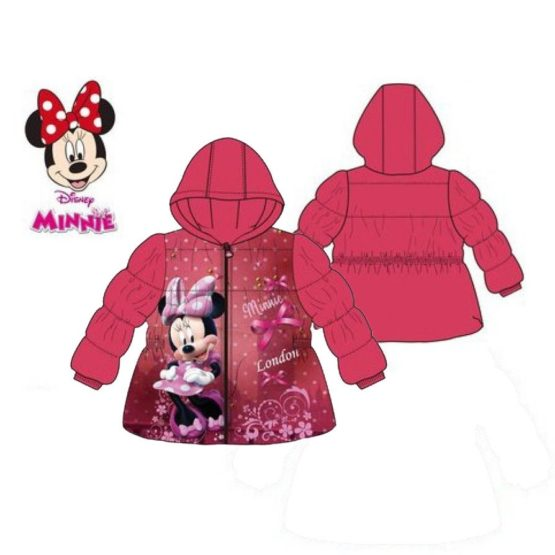 Babygefütterte Jacke Disney Minnie