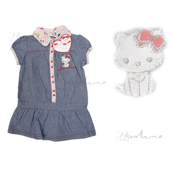 Blaues Kleid – Charmmy Kitty