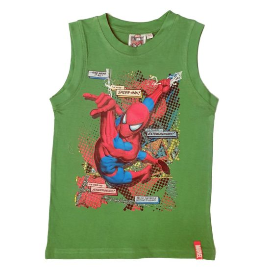 Grünes T-Shirt – Spiderman
