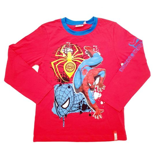 Langarmshirt – Spiderman