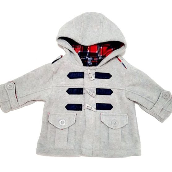 Mantel aus weichem Fleece