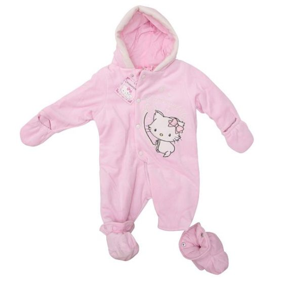 Pink winter coverall – Sunrio