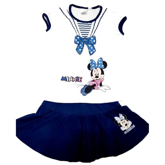 T-Shirt mit Rock – Minnie