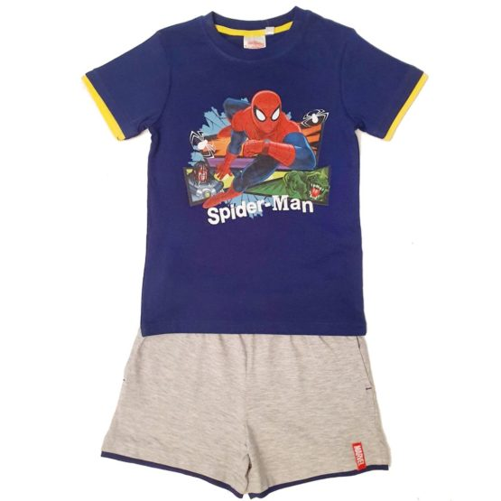 T-Shirt mit Shorts – Spiderman
