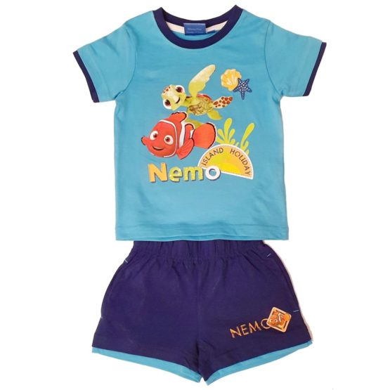 T-shirt with blue shorts – Nemo