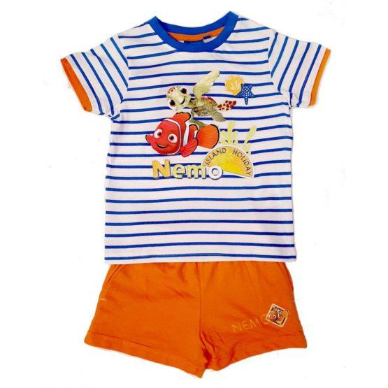 T-shirt with orange shorts – Nemo