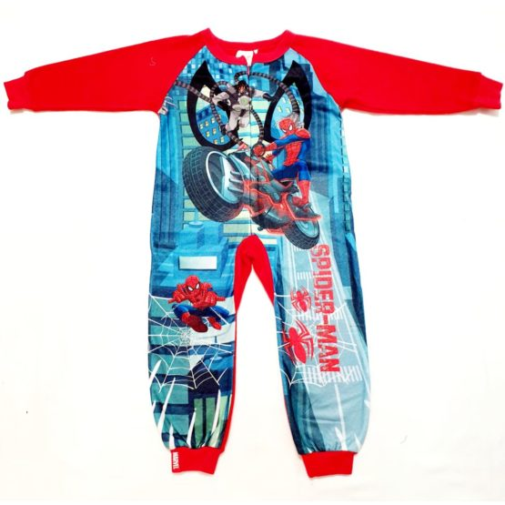 Warm Pajama – Spiderman