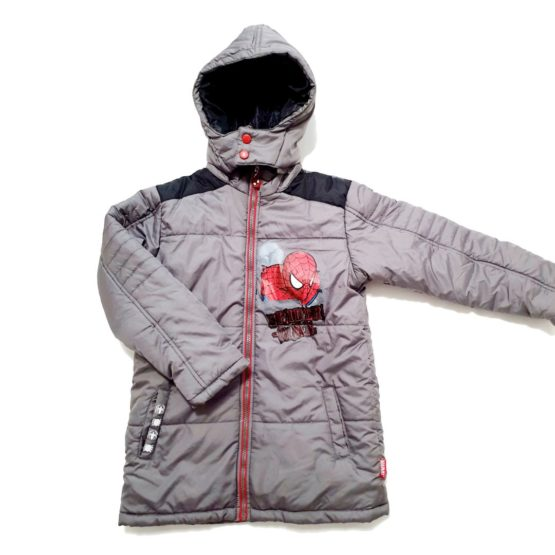Winter jacket with hood – Spider Man