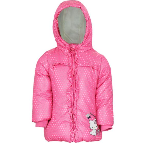 Charmmy Kitty Baby winter jacket – pink