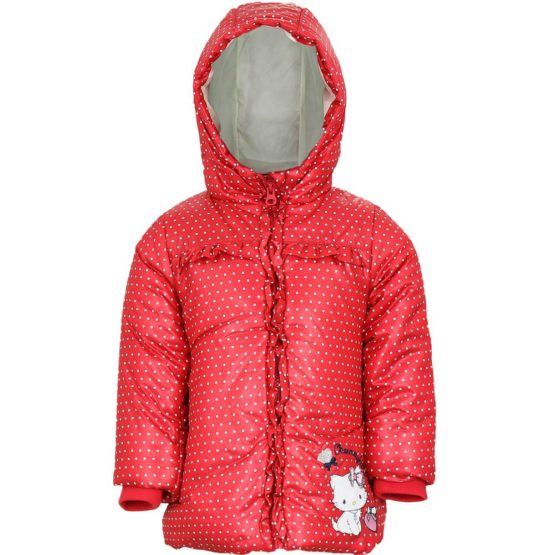 Charmmy Kitty Baby Winterjacke – rot