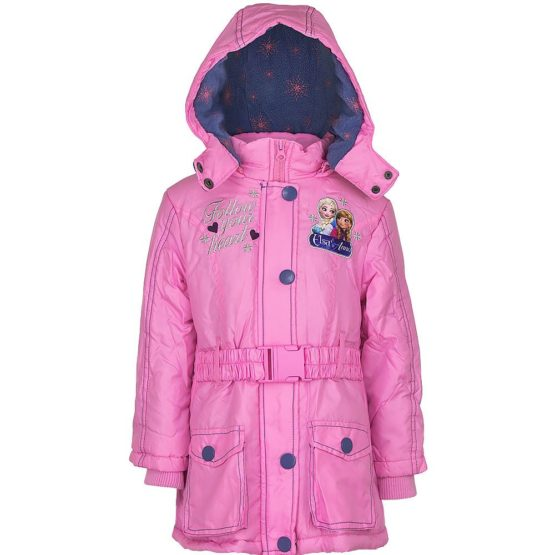 Winter jacket – Frozen – pink
