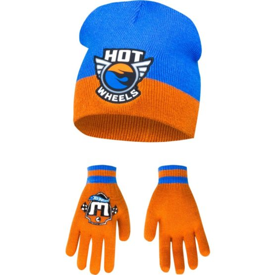 Hot wheels cap with gloves