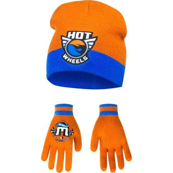 Hot wheels Mütze mit Handschuhe