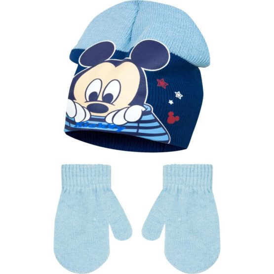 Mickey Baby with gloves – blue