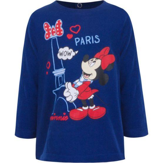 Minnie Baby Langarmshirt – blau