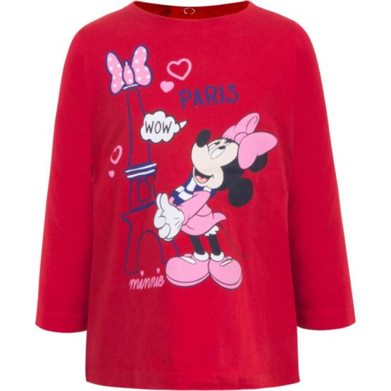 Minnie Baby long sleeve shirt – red