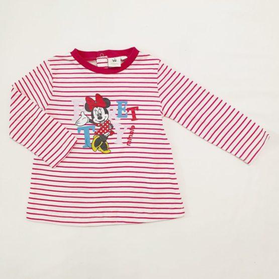 Minnie long sleeve shirt – white