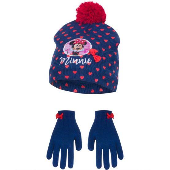 Minnie hat with gloves