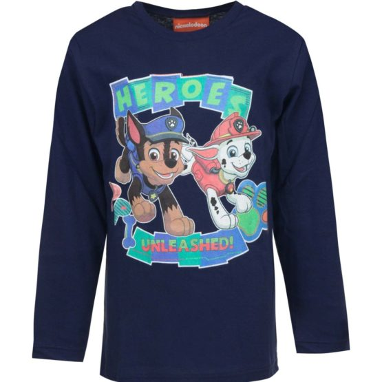 Paw Patrol long sleeve shirt – blue