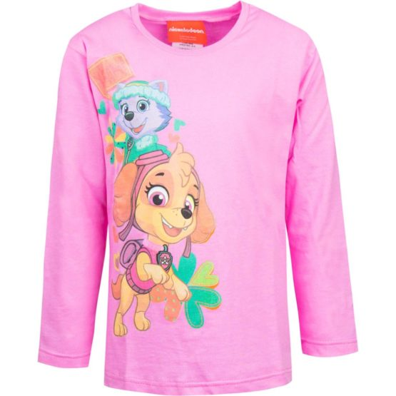 Paw Patrol long sleeve shirt – pink