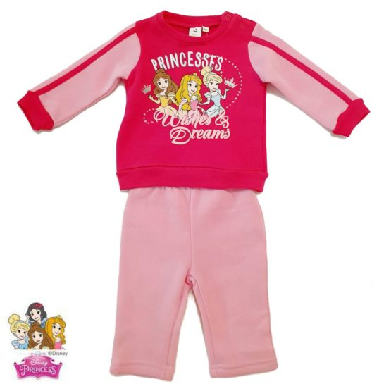 Princess Baby jogging suit – pink