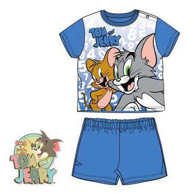 Tom and Jerry Baby shortama – dark