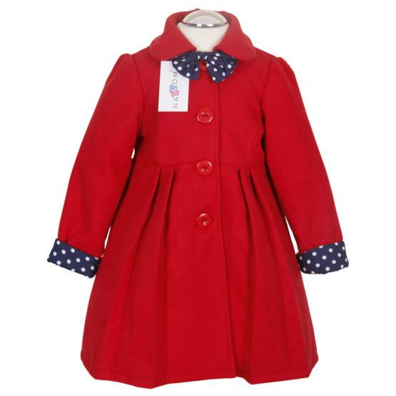 Mantel Für Mädchen Nat & Tom – Rot