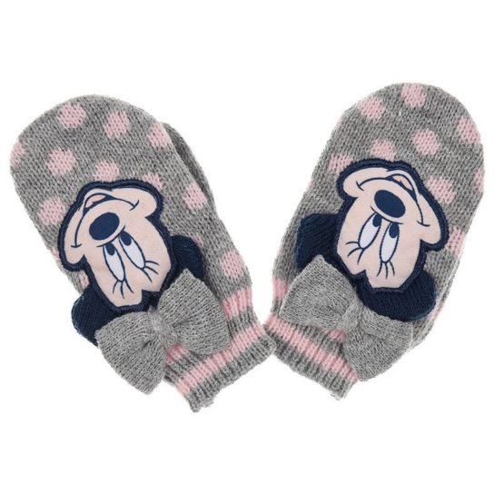 Baby Gloves – Disney Minnie Mouse – Gray