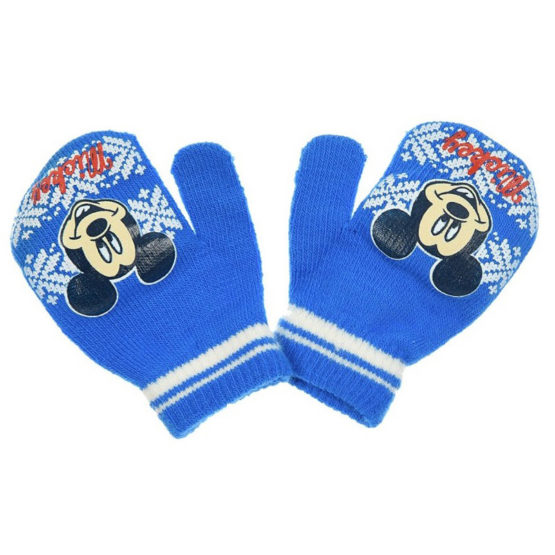 Blue Baby Gloves – Disney Mickey Mouse