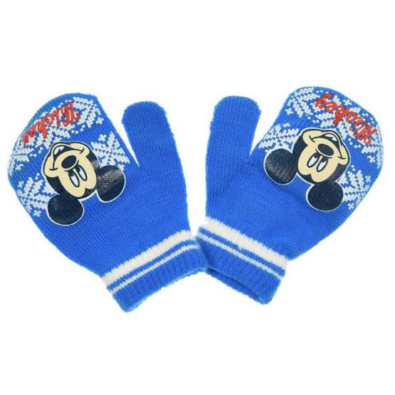 Blau Babyhandschuhe – Disney Mickey Mouse