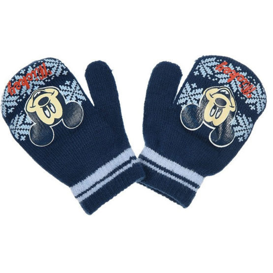 Dark blue Baby Gloves – Disney Mickey Mouse