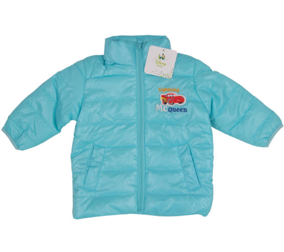 Baby Jacket with Retractable Hood – Cars
