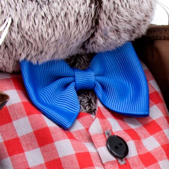 Basik im Anzug mit Schleife