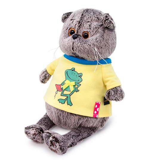 Basik im Frosch T-Shirt