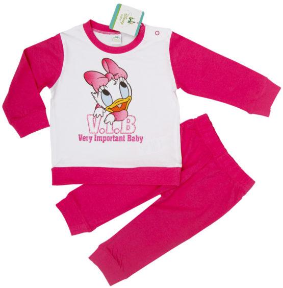 Disney baby pajamas – Daisy Duck – pink