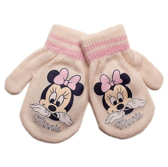 Disney gloves for girls – Minnie Mouse
