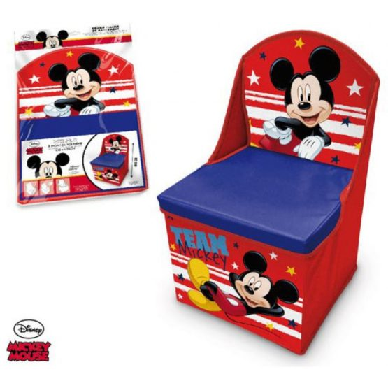 Disney folding armchair – toy box – Mickey Mouse