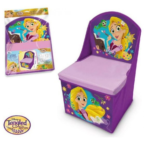 Disney folding armchair – toy box – Rapunzel
