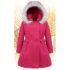 Herbst- Winterjacke Mit Kapuze Für Mädchen - Nat & Tom - rosa