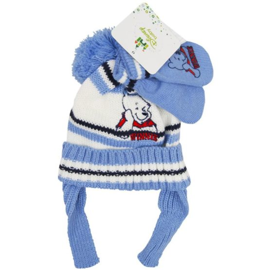 Hat and gloves – baby winter set