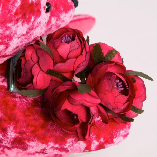 Teddybär BernArt, 30cm pink tolles geschenk