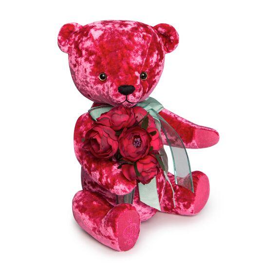 Teddy Bear BernArt, 30cm – pink