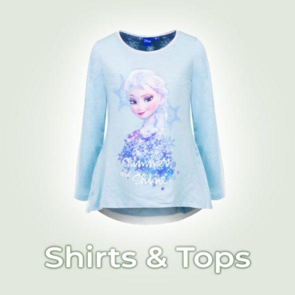 Mädchen shirts und Tops