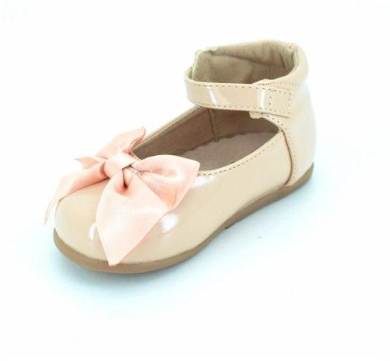 Mädchen Bar Schuh mit Schleife